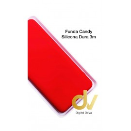 Redmi 9 XIAOMI Rojo FUNDA Silicona CANDY Dura 3MM