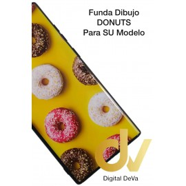 DV MI 8 LITE  XIAOMI FUNDA DIBUJO RELIEVE 5D DONUTS