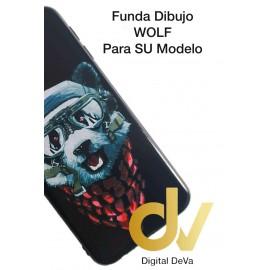 PSMART Plus 2019 HUAWEI FUNDA Dibujo 5D WOLF
