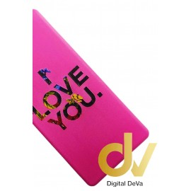 DV PSMART 2019 HUAWEI FUNDA DIBUJO RELIEVE 5D I LOVE YOU