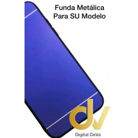 iPhone XS Max Funda Metalica AZUL