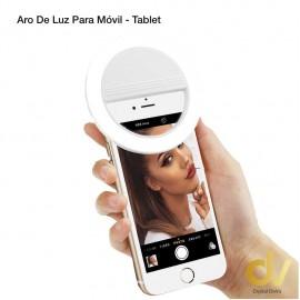 Aro De Luz Para Movil / Tablet BLANCO