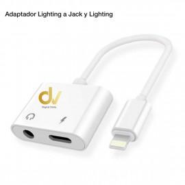 Adaptador Lighting a Jack y Lighting GL029