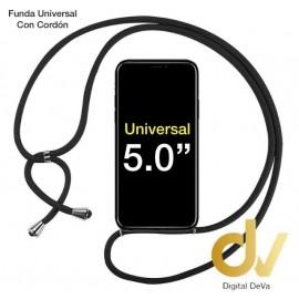 UNIVERSAL 5.0 FUNDA Con Cordon NEGRO