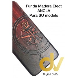 DV P20 HUAWEI FUNDA FUNDA WOOD EFFECT ANCLA