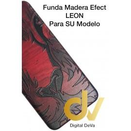 DV P20 HUAWEI FUNDA FUNDA WOOD EFFECT LEON