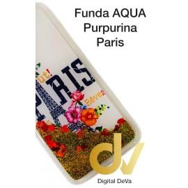iPHONE 11 FUNDA Agua Puerpurina PARIS
