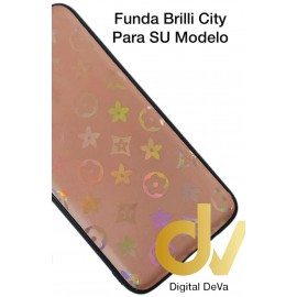 DV P30 HUAWEI FUNDA ESTRELLAS DEL CITY SHINE DURAZNO