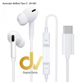 Auricular AIRBUD Tipo C JH-081