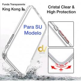 S20 Ultra SAMSUNG FUNDA ARMADURA Transparente Con Clips METALICOS