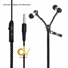 Auricular Zipper Jack 3.5mm Blanco