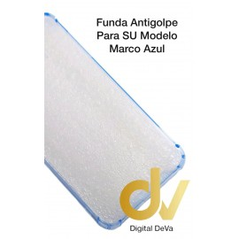 iPhone XR Funda Antigolpe Marco AZUL