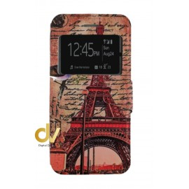 iPHONE 7plus / 8plus  FUNDA Libro Dibujo PARIS