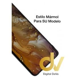 S20 Samsung Funda Brillo Marmol DORADO