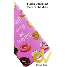 iPHONE 7plus / 8plus FUNDA Dibujo 5D DONUT