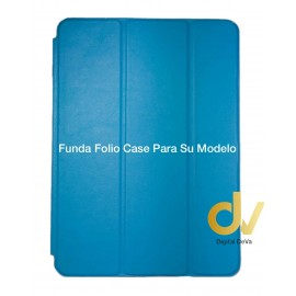 "NEW iPAD 9.7"" Azul Turques FUNDA Folio CASE"