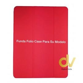 iPAD 6 / AIR 2 Rojo FUNDA Folio Case