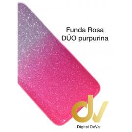 Redmi Note 8T XIAOMI FUNDA Duo Purpurina ROSA