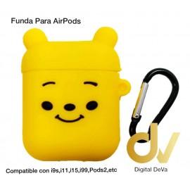 Funda Para AirPods  Oso Amarillo