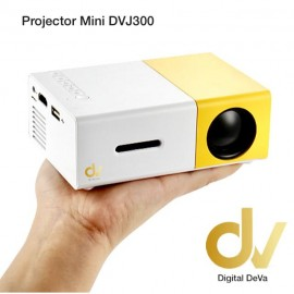 LED Projector Mini DV J300 Blanco