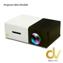 LED Projector Mini DV J300 Negro