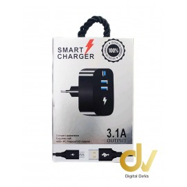 Cargador Smart Charger 3.1A Para Tipo C