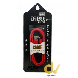 Cable Android LS-787 Rojo