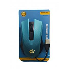 Ratón Óptico Con Cable HD5621 AZUL