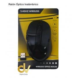 Ratón Inalambrico 2.4GHZ Negro