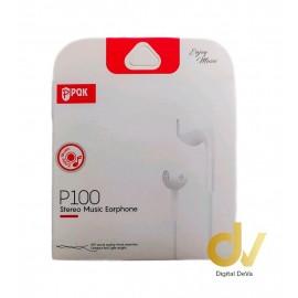 Auricular Jack 3.5MM P100