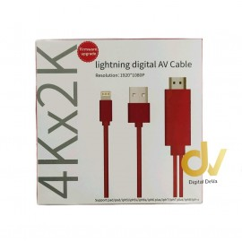 Cable 4Kx2K HDMI A LIGTHING
