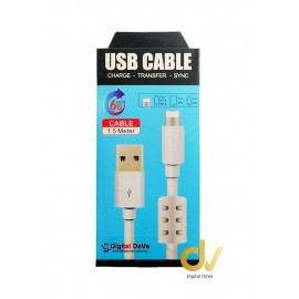 Cable Para Lighting iPHONE 1.5MTS