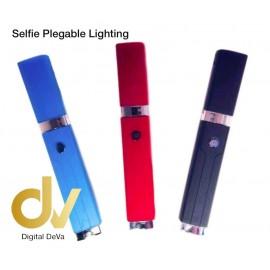 Selfie Plegable Lighting