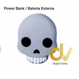 Power Bank Bateria Externa 8800MHA Emojis CALAVERA