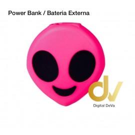Power Bank Bateria Externa 8800MHA Emojis EXTR ROSA