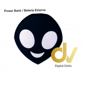 Power Bank Bateria Externa 8800MHA Emojis EXTR NEGRO