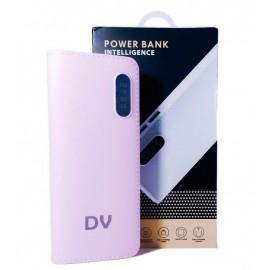 Power Bank Bateria Externa  2USB 12000MAH ROSA