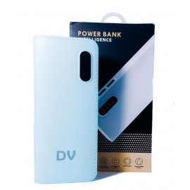 Power Bank Bateria Externa  2USB 12000MAH VERDE AGUA