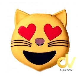 Power Bank Bateria Externa 8800MHA Emojis GATO