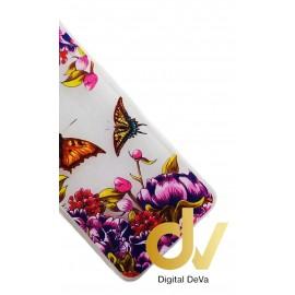 P9 Huawei Funda Transparente Dibujo Mariposas Colors