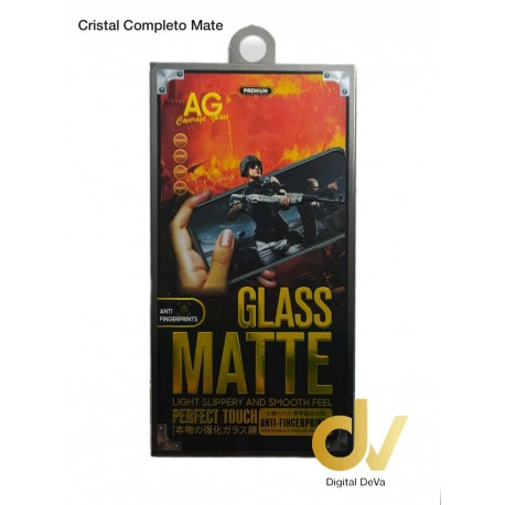 iPhone 7G / 8G Cristal Completo Mate NEGRO