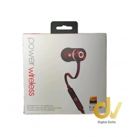 Auricular Bluetooth Power 5HV ROJO