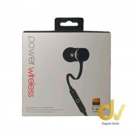 Auricular Bluetooth Power 5HV NEGRO