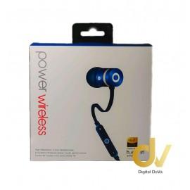 Auricular Bluetooth Power 5HV AZUL