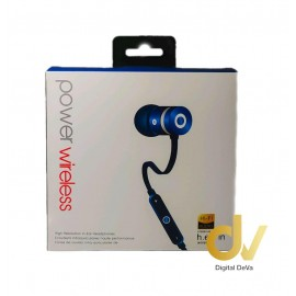 Auricular Bluetooth Power 5HV AZUL