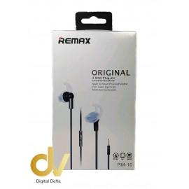 Auricular Stereo RX JACK 3.5MM Con Manos Libres RM-10