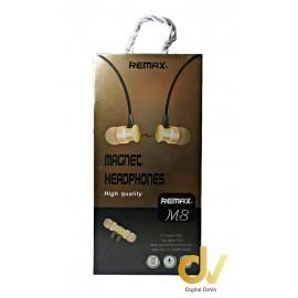 Auricular 3.5 Jack Magnetico RX-M8 DORADO