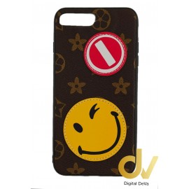 iPHONE 7Plus / 8Plus FUNDA Tejido A Mano EMOJIS
