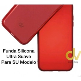 iPhone 11 Funda Ultra Suave Rojo Vivo