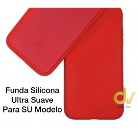 iPhone 11 Funda Ultra Suave Rojo